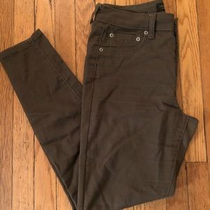 Olive green High-rise Aeropostale Jeggings